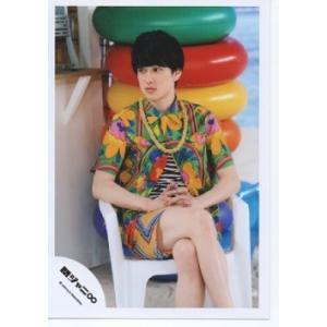 横山裕(関ジャニ∞) 公式生写真/罪と夏・衣装黄色×緑×青×ピンク×赤・目線左方向 arraysbook