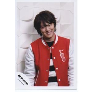 丸山隆平(関ジャニ∞) 公式生写真/愛でした。・衣装赤×白×黒・歯見せ|arraysbook