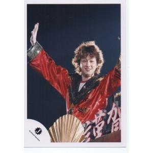 横山裕(関ジャニ∞) 公式生写真/Jロゴ・衣装赤×黒×白×金・両手あげ arraysbook