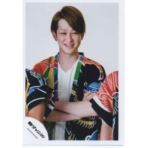 横山裕(関ジャニ∞) 公式生写真/十祭・衣装黒×黄×緑×青×オレンジ×白・腕組み arraysbook