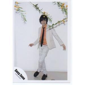 中島健人(Sexy Zone) 公式生写真/衣装オレンジ×白×黒・ネクタイ・カメラ目線・全身|arraysbook