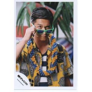 錦戸亮(関ジャニ∞) 公式生写真/罪と夏・衣装黄×黒×白・サングラス・口閉じ|arraysbook