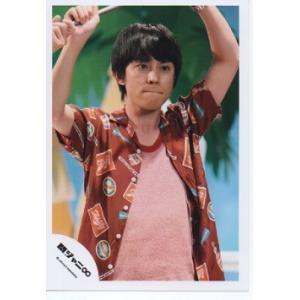 渋谷すばる(関ジャニ∞) 公式生写真/衣装茶色×オレンジ×青・口閉じ|arraysbook