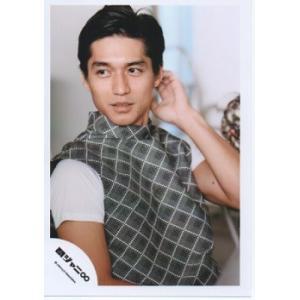 錦戸亮(関ジャニ∞) 公式生写真/パノラマ・衣装グレー×白・目線左方向・若干口開け|arraysbook