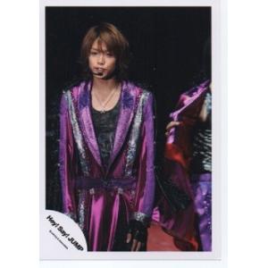 高木雄也(Hey!Say!JUMP) 公式生写真/衣装紫×黒×銀・背景黒|arraysbook