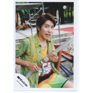 村上信五(関ジャニ∞) 公式生写真/罪と夏・衣装黄×黄緑×赤×白×水色・カメラ目線・口開け|arraysbook