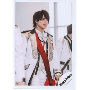 平野紫耀(キンプリ) 公式生写真/シンデレラガール・衣装白×赤×銀・目線右方向 arraysbook