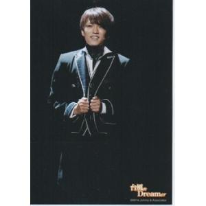 神山智洋(ジャニーズWEST) 公式生写真/台風n Dreamer 2014・衣装黒×白・両手服|arraysbook