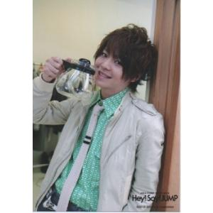 有岡大貴(Hey!Say!JUMP) 公式生写真/ASIA FIRST TOUR 2012・衣装グレー×緑・カメラ目線 arraysbook