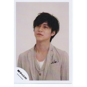 錦戸亮(関ジャニ∞) 公式生写真/365日家族・衣装ベージュ×白・目線若干左方向|arraysbook