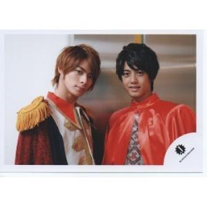 平野紫耀&高橋海人(King&Prince) 公式生写真/カメラ目線・Jロゴ・高橋衣装赤|arraysbook