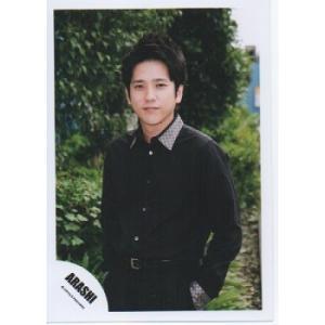 二宮和也(嵐) 公式生写真/Japonism・衣装黒×白・カメラ目線・口閉じ|arraysbook
