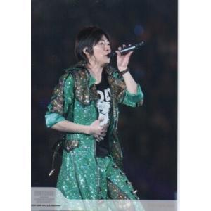 相葉雅紀(嵐) 公式生写真/COUNTDOWN CONCERT 2007-2008・衣装緑×黒×白・マイク持ち arraysbook
