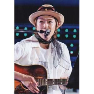 相葉雅紀(嵐) 公式生写真/衣装白・帽子・ギター持ち・目線左方向 arraysbook