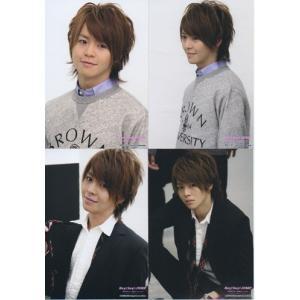 有岡大貴(Hey!Say!JUMP) 公式生写真 4枚セット/「ありがとう」 〜世界のどこにいても〜2010-2011|arraysbook