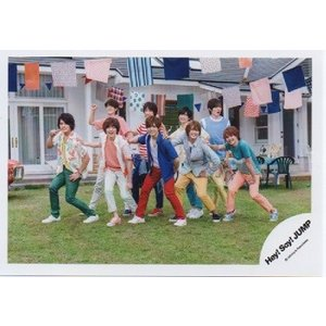 Hey!Say!JUMP 集合 公式生写真/キラキラ光れ・山田衣装青×白×赤|arraysbook