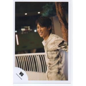 坂本昌行(V6) 公式生写真/衣装白×黒・笑顔|arraysbook