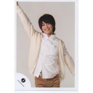 岩橋玄樹(King&Prince) [キンプリ] 公式生写真/Jロゴ・衣装白・右手上 arraysbook