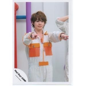 有岡大貴(Hey!Say!JUMP) 公式生写真/Chau#・衣装オレンジ×白・口閉じ|arraysbook