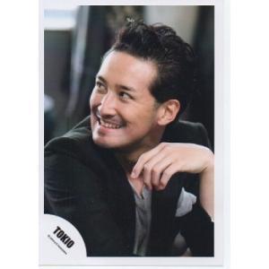 松岡昌宏(TOKIO) 公式生写真/衣装黒×グレー・目線左 arraysbook