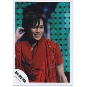 千賀健永(Kis-My-Ft2/キスマイ) 公式生写真/衣装赤・目線若干右方向 arraysbook