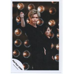 薮宏太(Hey!Say!JUMP) 公式生写真/OVER THE TOP・衣装黒・指差し・口閉じ・目線左方向|arraysbook