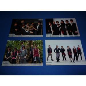 集合[6人体制](KAT-TUN) 公式生写真 4枚セット/2008 ジャニーズWeb arraysbook
