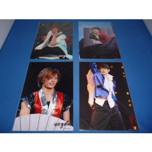 塚田僚一(A.B.C-Z)ステージフォト(2L判公式生写真)4枚セット/2007 滝沢演舞場 2009滝沢革命 arraysbook