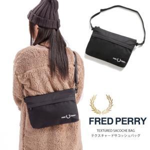 フレッドペリー FRED PERRY サコッシュ ショルダーバッグ サコッシュバッグ 斜め掛けバッグ...
