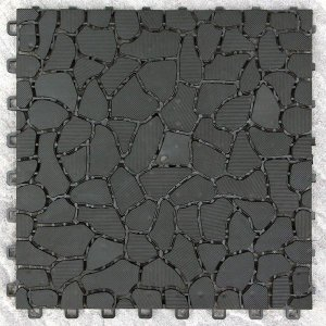 山善 コンビマット ブラック F-CM(BK) 1枚|arrwoss