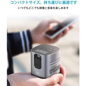 AOFU ミニ プロジェクター 小型 ホームシアター 1080P対応 DLP搭載HDMI/AUDIOサポート パソコン スマホなど接続可能 父の日 母の日 プレゼント|arsion