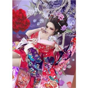 クロスステッチ  DIY 刺繍キット 図案 手芸 舞妓 和風 美しい 日本文化 日本刺繍 初心者 簡単 刺繍 指ぬき 糸通し付き 送料無料 日本語解説付き 壁飾り 壁アート|arsion