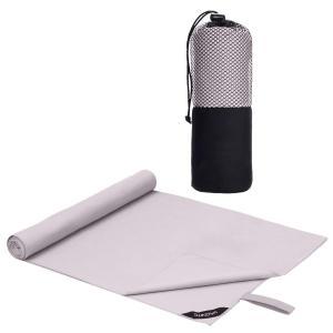 速乾タオル 超吸水 柔らかい 色褪せない 防臭 高い耐久性 軽量 収納袋付き 湿気|arsion