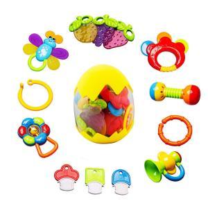 1.対象年齢:0-12ヶ月 対象性別:男の子 女の子 男女共用 2.内容:歯固めおもちゃx6、ハンド...