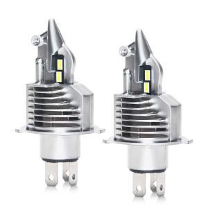 LED ヘッドライト ホワイト H4 Hi/Lo 2個セット 車検対応 6000K 10000LM 50W バイク用 12V 車用 LEDバルブ H4 ハイ/ロービーム 切替|arsion