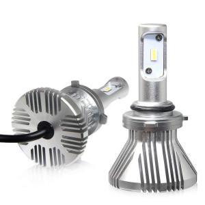 LEDヘッドライト フォグランプ 2本入り 8F-HB4 12V車用 サンライト 車検対応 ファンレス 4800K 8000lm ノイズ対策済み 角度調整 ヒートシング放熱|arsion