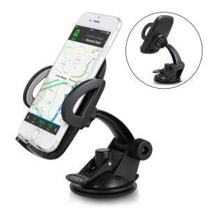 車載ホルダー スマホホルダー iPhone スマホスタンド 粘着ゲル吸盤式 携帯ホルダー 360度回転可能 arsion