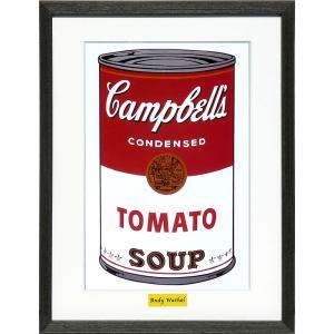 インテリアアート/ポップアート アンディー・ウォーホル Campbell's Soup 1(アートポスター/アートパネル/絵画 インテリア) arsonline