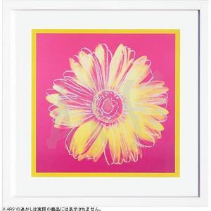 インテリアアート/ポップアート アンディー・ウォーホル Daisy,c1982(fuchsia and yellow)(アートポスター/アートパネル/絵画 インテリア) arsonline