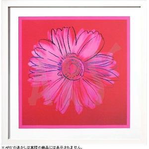 インテリアアート/ポップアート アンディー・ウォーホル Daisy,c1982(crimson and pink)(アートポスター/アートパネル/絵画 インテリア) arsonline