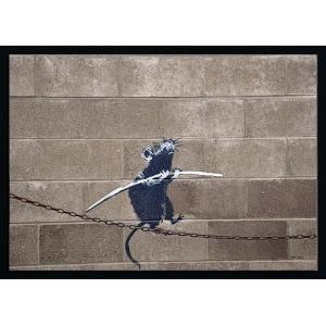 バンクシーは、イギリスを基盤にして活動している匿名の芸術家、公共物破壊者(ヴァンダリスト)、政治活動...