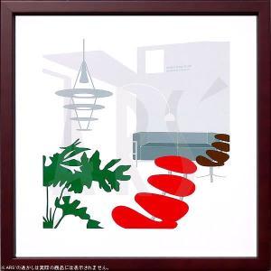 ポール・M・ヴォルターの名作『コロナチェア(Corona Chair)』のアートポスターをアートパネ...