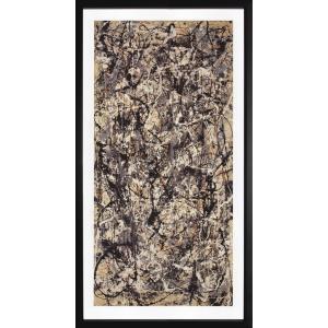 ジャクソン・ポロックは、アクション・ペインティング及び抽象表現主義の代表的な画家です。 キャンバスを...