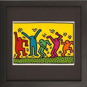 キース・へリングは、アメリカのポップアートを代表するアーティストの一人で、20才頃からニューヨークの...