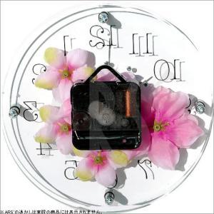 壁掛け時計 ウォールクロック アートフラワークロック 電波時計 オシャレ 北欧 おしゃれ シンプル アンティーク モダン 木製 インテリア 高級|arsonline|07