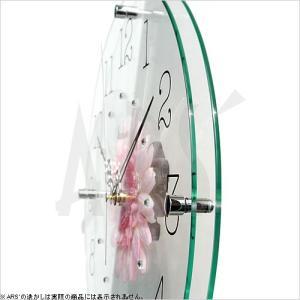壁掛け時計 ウォールクロック アートフラワークロック 電波時計 オシャレ 北欧 おしゃれ シンプル アンティーク モダン 木製 インテリア 高級|arsonline|05