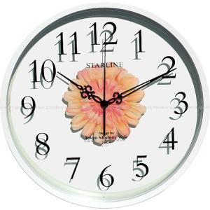 2枚のガラスの中にみずみずしいモンステラのフェイクグリーンを挟み、オシャレな掛け時計にしました。 枯...