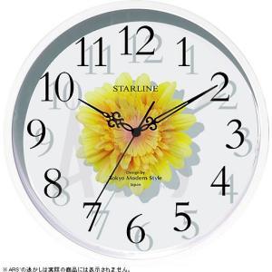 ガラスの中にみずみずしいアートフラワーやフェイクグリーンを挟んだオシャレな北欧風壁掛け時計です。 枯...