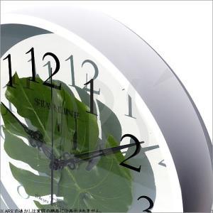 壁掛け時計 ウォールクロック アートフラワークロック 電波時計 オシャレ 北欧 おしゃれ シンプル アンティーク モダン 木製 インテリア 高級 arsonline 03