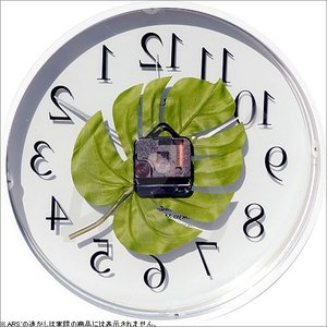 壁掛け時計 ウォールクロック アートフラワークロック 電波時計 オシャレ 北欧 おしゃれ シンプル アンティーク モダン 木製 インテリア 高級 arsonline 06